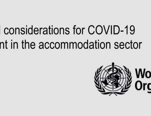 Hotel Operations beyond COVID-19: World Health Organization guidelines