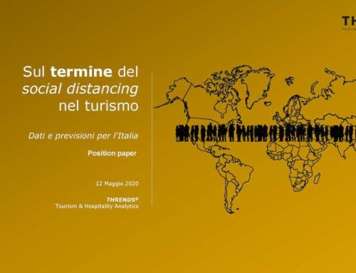 Projecting the end of social distancing in tourism for Italy